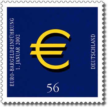 Euro Briefmarke